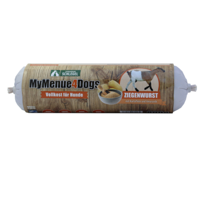800 g - Kecskehús 92% hústartalommal, 5% burgonyával és 3% amaránttal