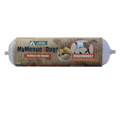 Kecskehús 92% hústartalommal, 5% burgonyával és 3% amaránttal