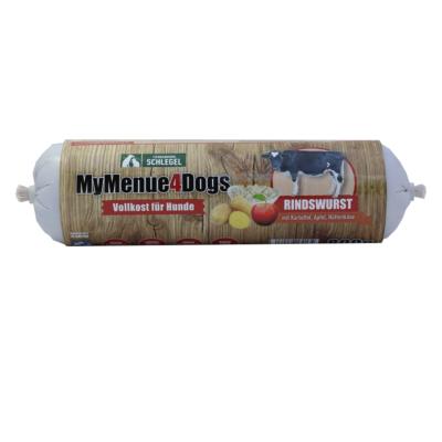 MyMenu4Dogs - Marhahúsrolád almával, túróval és burgonyával