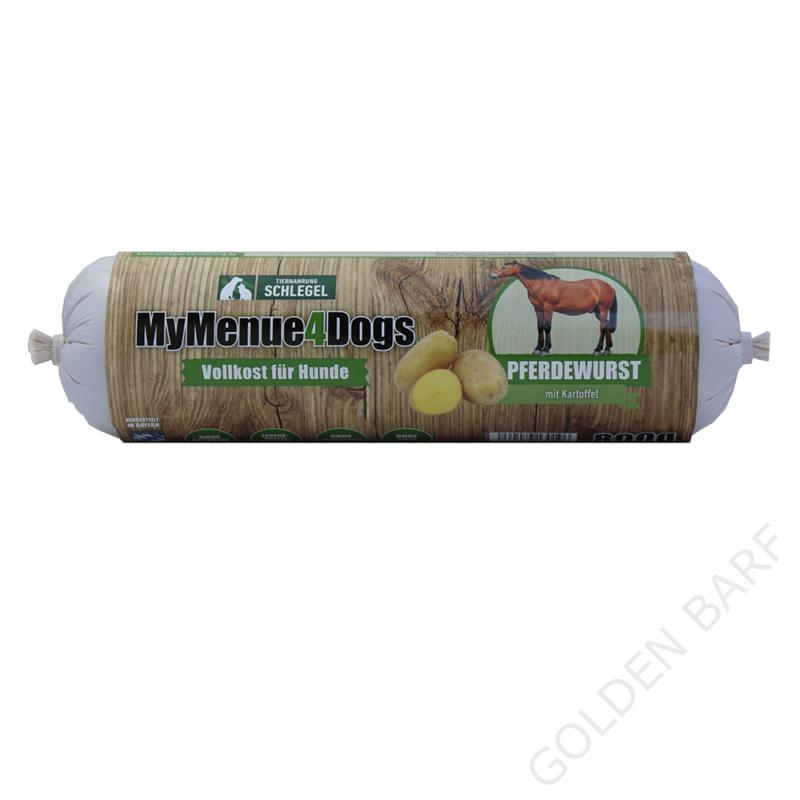 MyMenu4Dogs - Lóhúsos rolád, 90%! hústartalommal